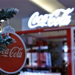Coca Cola X-MAS Pop Up store