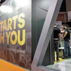 Adidas Marathon Indoor Booth 2017